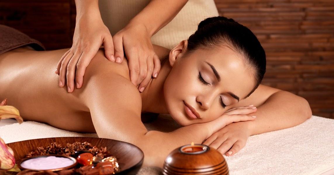 тайский массаж на столе